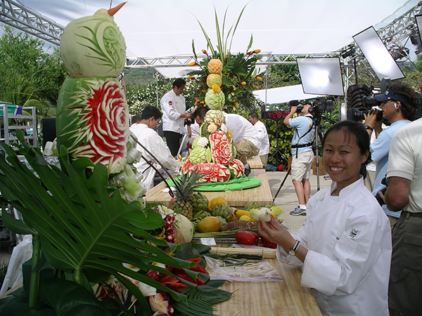 Food Network competition in Hawaii (2006).