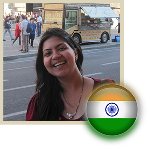 Ritu from New Delhi India