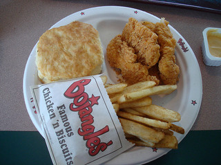 Bojangle's Chicken and Biscuits. (Photo: Flickr/mikeFliesHigh)